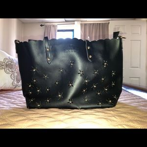 Cute black Gucci bag with studs💫